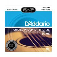D'Addario EXP 16 Light Muta di corde per chitarra acustica