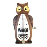 Wittner Taktell in Shape of Animals Series 839031 Owl - Metronomo meccanico