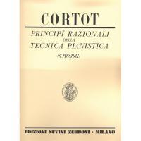 Cortot Principi razionali della tecnica pianistica (Piccioli) - Edizione Suvini Zerboni Milano