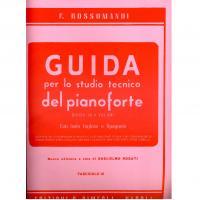 Rossomandi GUIDA per lo studio tecnico del pianoforte Divisa in 8 Volumi con testo Inglese e Spagnolo (Rosati) Fascicolo lll - Edizioni S. Simeoli
