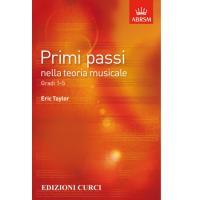 Primi passi nella teoria musicale Gradi 1-5 Eric Taylor - Edizioni Curci
