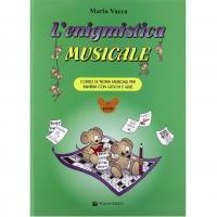 Vacca L'enigmistica Musicale Corso di teoria musicale per bambini con giochi e quiz - Volontè & Co