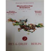Entezami Melodische Etuden fur Viola Vol.I Melodic Etudes for Viola (1. Pos) - Ries & Erler Berlin