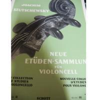 Stutschewsky New Collection of Studies For Violoncello ED 1594 IV - Schott