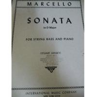 Marcello Sonata in D Major for string bass and piano (stuart sankey) - International Music Company