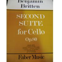 Benjamin Britten Second Suite for Cello Op. 80 - Faber Music