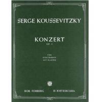 Serge Koussevitsky Konzert Op. 3 per Contrabbasso
