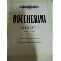 Boccherini Konzert D-dur / D major GV 476 Violoncello und Kammerorchester - Edition Peters
