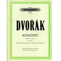 Dvorak Konzert per violoncello e orchestra B minor Opus 104 (Pommer) - Edition Peters