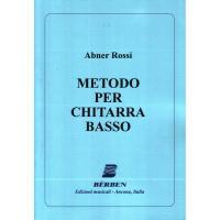 Abner Rossi Metodo per chitarra basso - Bèrben