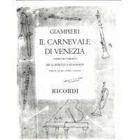 Giampieri Il Carnevale di Venezia Capriccio Variato - Ricordi