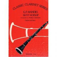 Classic Clarinet Series Handel Silent Worship - Fentone F194