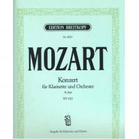 Mozart Konzert fur Klarinette und Orchester A-dur KV622 - Breitkopf
