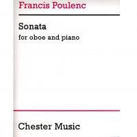 Francis Poulec Sonata for Oboe and Piano - Chester Music