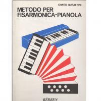 Orfeo Burattini METODO PER FISARMONICA - PIANOLA - Bèrben