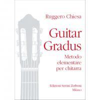 Chiesa Guitar Gradus Metodo elementare per chitarra - Edizioni Suvini Zerboni