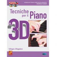 Tecniche per il Piano 3D Solfeggio + Diteggiature - Carisch
