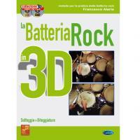 La Batteria Rock in 3D Solfeggio + Diteggiatura - Carisch