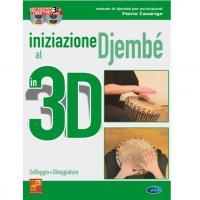 Iniziazione al Djembé in 3D Solfeggio + Diteggiature - Carisch
