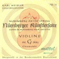 NURNBERGER KUNSTLER SEILKERN Corde Violino