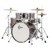 Gretsch drum Set Energy Grey Steel Hardware originale ESCLUSO PIATTI