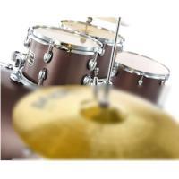 Gretsch drum Set Energy Grey Steel Hardware originale SENZA PIATTI