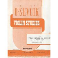 Sevcik Violin Studies Opus 6  Part 3