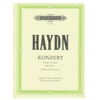 Haydn Konzert G- Dur / G Major Violine und Orchester  Hob VIIa 4   Edition for Violin and Piano EDITION PETERS