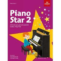 Piano star 2 - 26 brani per giovani pianisti livello: Prep Test - ABRSM Edizioni Curci