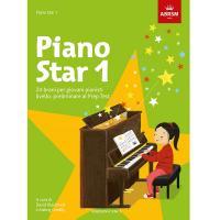 Piano star 1 - 24 brani per giovani pianisti livello: preliminare al Prep Test - ABRSM Edizioni Curci