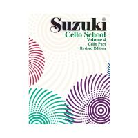 Suzuki Cello School Volume 4