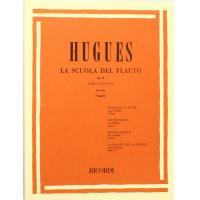 Hugues La Scuola del flauto Op. 51 per 2 Flauti IV Grado (Veggetti) - Ricordi