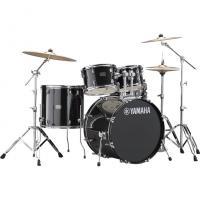 Batteria Yamaha Rydeen Black Glitter RDP2F5 con Piatti Paiste 101 - SPEDITA GRATIS