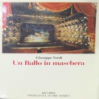 Un ballo in maschera - Verdi Giuseppe