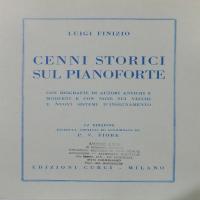 Cenni Storici sul Pianoforte - Finizio Luigi