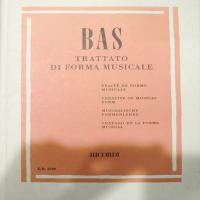 Bas Trattato di Forma Musicale - Ricordi
