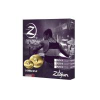 Zildjian Planet Z Plz4pk Cymbal Set - Kit Piatti Hi-hat 14