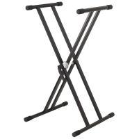 Soundsation KS-25 Supporto a barra doppia per Tastiera e Pianoforte digitale