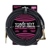 Ernie Ball 6058 Cavo Braided Black/Black 7,6 m