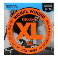 D'Addario EXL110BT 10-46 Balanced Tension Muta di corde per chitarra elettrica